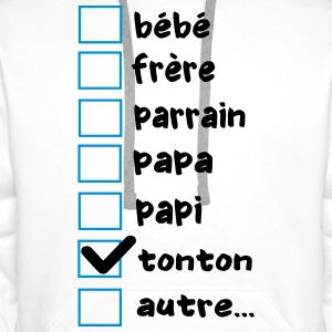 case tonton Sweat-shirts - Sweat-shirt à capuche Premium pour hommes