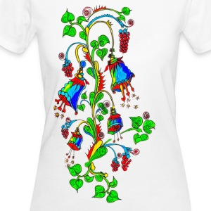 Bellflower, summer, flowers, spring, design T-Shirts - Women's Organic T-shirt