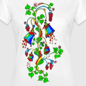 Bellflower, summer, flowers, spring, design Tee shirts - T-shirt Femme