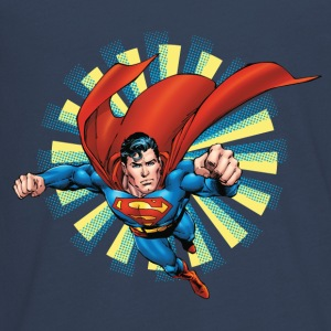 Superman Flying Pose Teenager Langarmshirt - Teenager Premium Langarmshirt