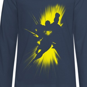 Superman Shadow Teenager Longsleeve - Långärmad premium-T-shirt tonåring