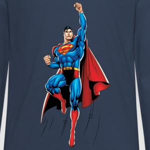 Superman Up and Away Teenager Langarmshirt - Teenager Premium Langarmshirt