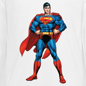 Superman Classic Pose Teenager Langarmshirt - Teenager Premium Langarmshirt