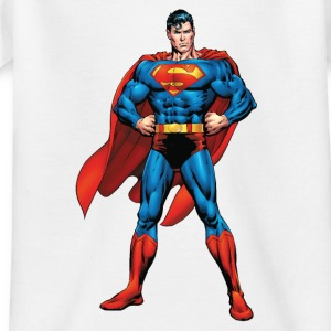 Superman Classic Pose Teenager T-Shirt - Teenager T-Shirt