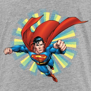 Superman Flying Pose Teenager T-Shirt - Teenager Premium T-Shirt