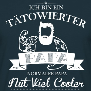 Tattoo-Dad  T-Shirts - Männer T-Shirt