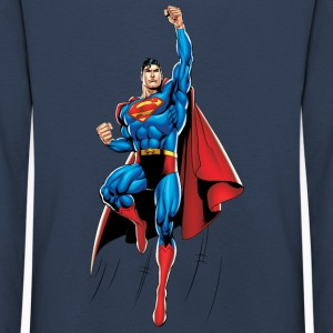 Superman Up and Away Kinder Langarmshirt - Kinder Premium Langarmshirt