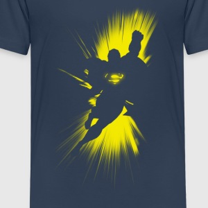 Superman Shadow Kinder T-Shirt - Kinder Premium T-Shirt