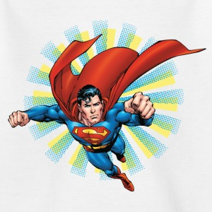 Superman Flying Pose Kids T-Shirt - T-shirt barn