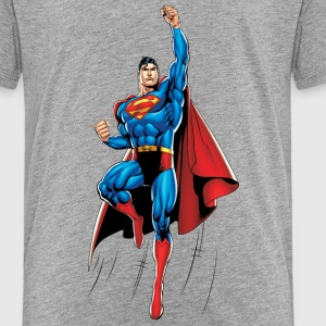 Superman Up And Away Kinder T-Shirt - Kinder Premium T-Shirt