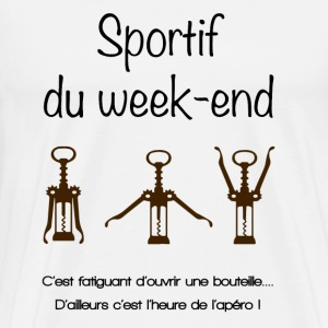 Sportif du week-end - T-shirt Premium Homme