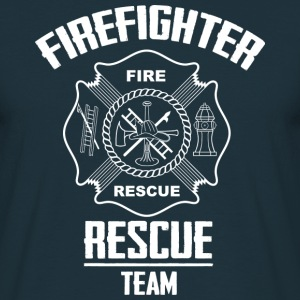 Firefighter rescue T-Shirts - Männer T-Shirt
