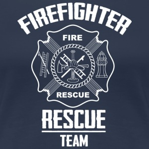 Firefighter rescue T-Shirts - Frauen Premium T-Shirt