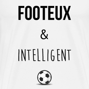 Footeux & intelligent - T-shirt Premium Homme