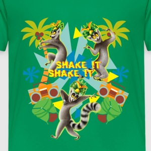 DreamWorks King Julien Shake it Kinder T-Shirt - Kinder Premium T-Shirt