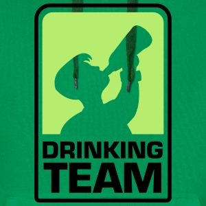 party logo drinking team Pullover & Hoodies - Männer Premium Hoodie