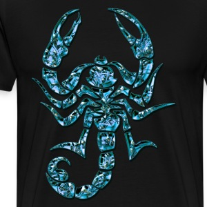 Blue Scorpion, DD T-Shirts - Men's Premium T-Shirt