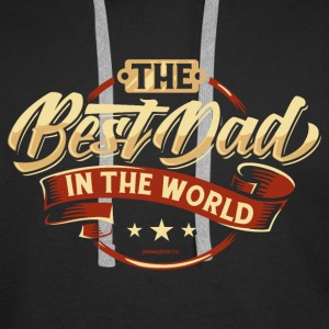 The Best Dad In The World - Männer Premium Hoodie
