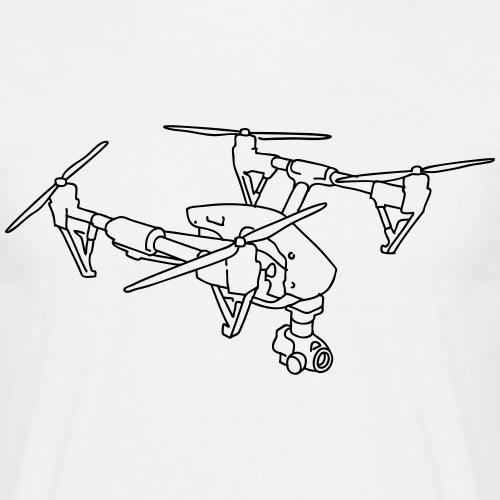 Drohne vergesteuert unbemannt fliegen