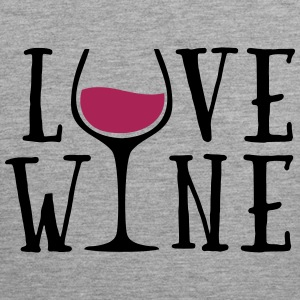 Love Wine Quote Sports wear - Men's Premium Tank Top