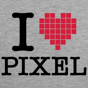 I Love Pixel Sports wear - Men's Premium Tank Top