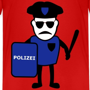 COP with baton - Kids' Premium T-Shirt
