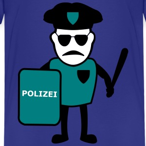 Policeman with truncheon - Kids' Premium T-Shirt