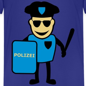 Laughing policeman - Kids' Premium T-Shirt