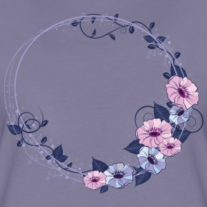 Washed violet Nice flower bundle T-Shirts - Women's Premium T-Shirt