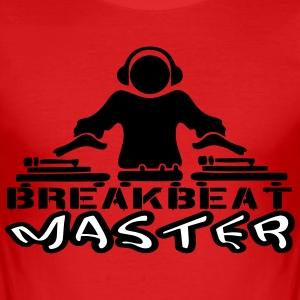 beat master T-Shirts - Men's Slim Fit T-Shirt