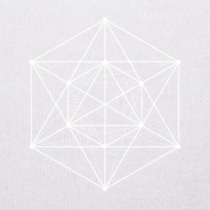 Sacred geometry / Minimal Hipster Line Art Teddy Bear Toys - Teddy Bear