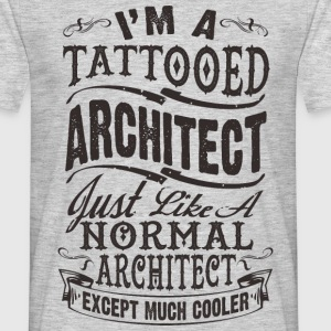 TATTOOED ARCHITECT MEN T-SHIRT - Männer T-Shirt