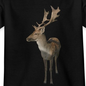 Teenager T-Shirt Damhirsch - Teenager T-Shirt