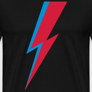 Flash, music, rebel, hero, comic, dance, star T-skjorter - Premium T-skjorte for menn