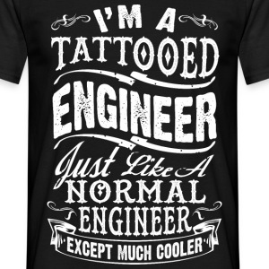 TATTOOED ENGINEER MEN T-SHIRT - Männer T-Shirt