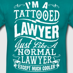 TATTOOED LAWYER MEN T-SHIRT - Männer T-Shirt