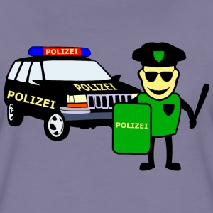 Police & police car - Women's Premium T-Shirt