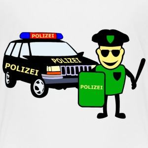 Police & police car - Teenage Premium T-Shirt