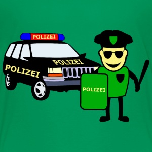 Police Officer & Police Car - Teenager premium T-shirt