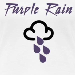 Prince Purple Rain - Women's Premium T-Shirt
