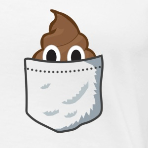 Poop in my pocket - Women's Premium T-Shirt