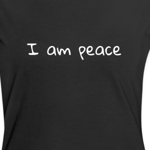 Women's Ringer - I am peace mantra - Women's Ringer T-Shirt