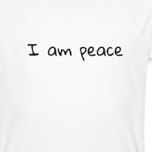Men's Organic - I am peace mantra - Men's Organic T-shirt