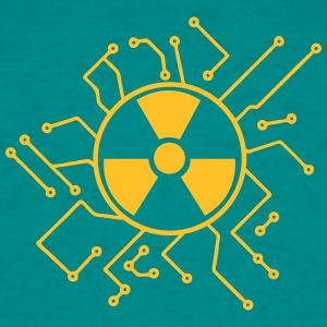 atomically atomic symbol radioactive atomic bomb f T-Shirts - Men's T-Shirt