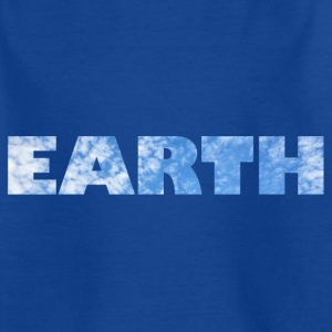 Earth Clouds T-Shirts - Kinder T-Shirt