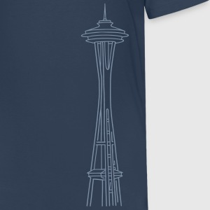 Space Needle en Seattle Camisetas - Camiseta premium adolescente