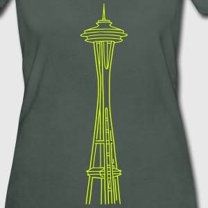 Space Needle in Seattle T-Shirts - Women's Organic T-shirt