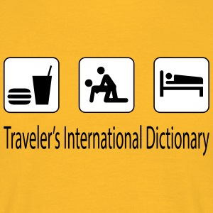 Traveler's dictionary Tee shirts - T-shirt Homme