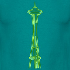 """Space Needle"" in Seattle T-Shirts"