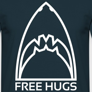 Free Shark Hugs - T-shirt Homme